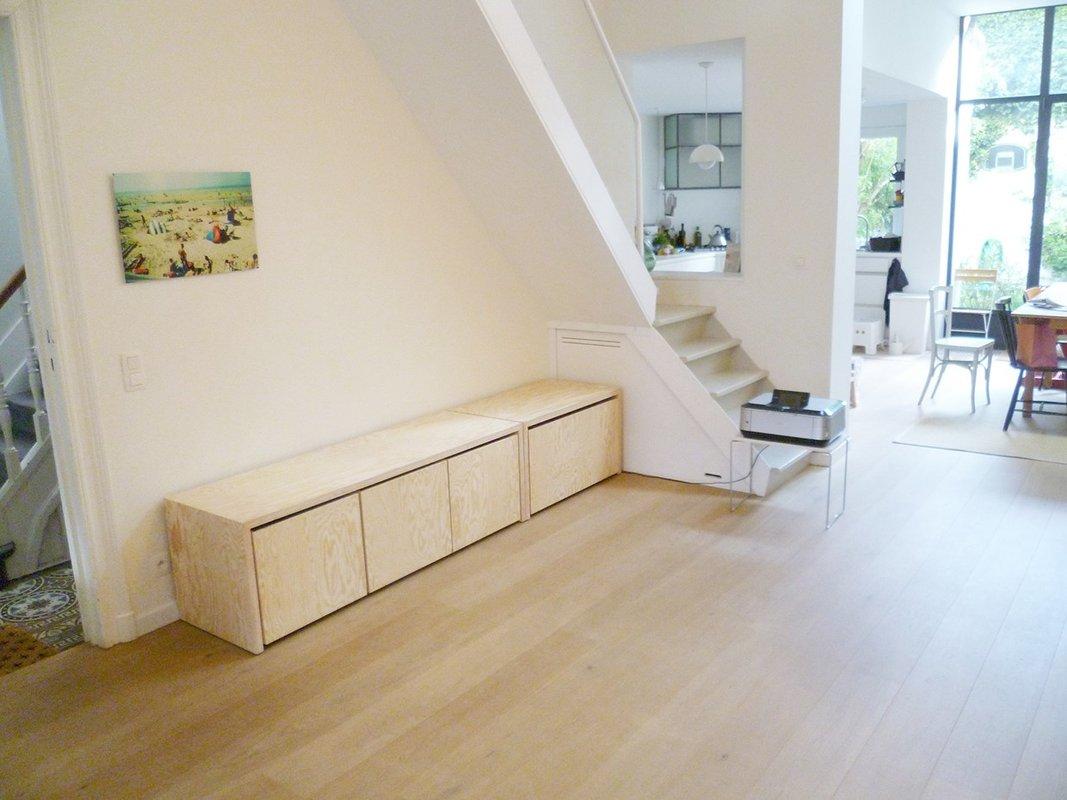 nonpareil banquette d entree. Black Bedroom Furniture Sets. Home Design Ideas